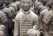 Shih-Emperor neckwear History /  Terracotta-Army   Shih-Emperor(BC,210)