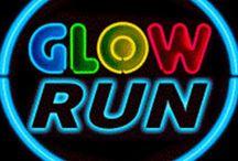 Glow Run / A Glow run é um evento noturno ao ar livre que combina 1 hora de zumba seguinda de 5 Km de corrida/caminhada e termina com uma festa ao som das melhores músicas do momento, tudo acompanhado de muito brilho e animação! Em Oeiras/Jamor a 19 de Setembro de 2015.