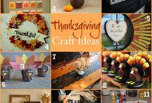 Thanksgiving Crafts / by Kennedy Myler