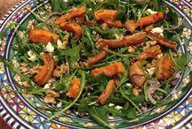 Good Food / Salad with pumpkin