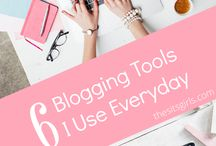 Blogging Tools / Tools to help bloggers streamline their processes. Organization tools, scheduling tools, plugins, photography and info graphic software, mailing list tools, landing page tools, Wordpress themes etc