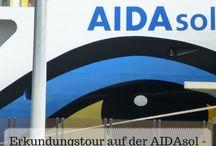Kreuzfahrt - AIDA / Auf dieser Pinnwand pinne ich Pins mit Tipps und Empfehlungen für Reisen auf AIDA-Schiffen.