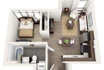 układ mieszkań