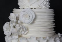 Tarta blanca de bodas