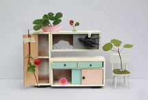 A little world of Dollhouses / Dollhouses that are part of life.