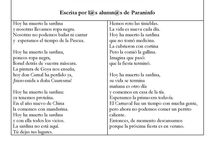 ODA DE LA SARDINA . CURSOS DE ESPAÑOL PARA EXTRANJEROS. / Cursos de español para extranjeros: Aquí publicamos la oda a la sardina que nuestros estudiantes de español han realizado. www.paraninfo.com