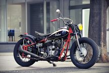 Motorcycle ~ Bobber / by Johnny Hood