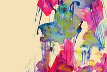 print colorfully // art / by Carolina Garcia
