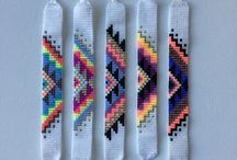 Armband weven felle kleuren