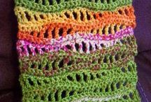 Crochet shawl/scarf etc.