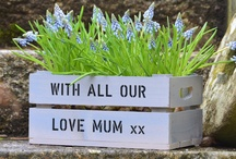 Mothers Day Crates & Gifts / Personalised Gardening Gifts for Mum on Mother's Day