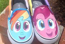 рисунки на обуви