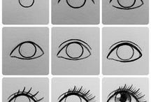 Dibujar ojos
