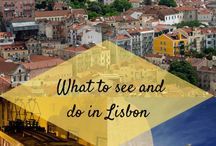 Lisbon. / Things to do, eat, wear in Lisbon.
