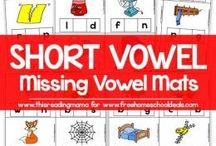 short vowel sound middle