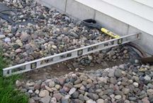 Wet Basement Solutions / Groundworks specializes in correcting drainage issues in landscapes that are causing wet basements and water problems within your home.