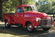 chevy / Reconstruction frame off 1952 Chevrolet Pick-up Truck