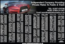 Number Plates for Sale - offers always considered / New advert small selection of numbers available