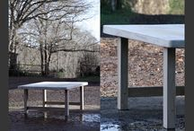 Commissioned Tables / These tables can be commissioned in most sizes from a modest 6 - 8 seat to larger a 12+ seater