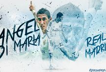 Ángel di María / Ángel Fabián Di María Hernández is an Argentine professional footballer who plays for Ligue 1 club Paris Saint-Germain and the Argentina national team. He can play as either a winger or attacking midfielder. Wikipedia Born: 14 February 1988 (age 29), Rosario, Argentina Height: 1.8 m Weight: 75 kg Spouse: Jorgelina Cardoso (m. 2011) Salary: 7.28 million GBP (2015) Current teams: Paris Saint-Germain F.C. (#11 / Midfielder), Argentina national football team (Midfielder)