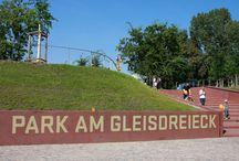 Park am Gleisdreieck | Berlim / E mais uma vez, Berlim mostra sua capacidade nata de se reinventar sem deixar para trás capítulos de sua história.