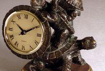 Часы черепашки