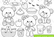 Art & Doodles - Animals - Bears / by Heather R