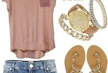 Outfits- summer / by Jennifer Rubendall