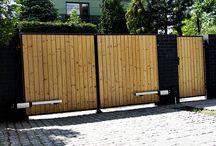 DlaDziałki - ścieżki / I N S P I R A C J E Ogrodzenie, nawierzchnia, zieleń, mała architektura.