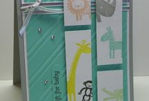Zoo Babies / Made using Stampin' Up! Zoo Babies stamp set.