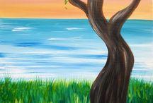 Ζωγραφικη δέντρα