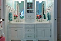 girls bathroom ideas / by Heather Poland
