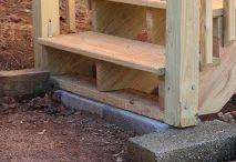 schody na taras