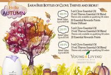 Young Living Promotions / Graphics for monthly promotions, Essential Rewards etc.