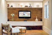 Sala de TV - Decoração & Iluminação