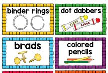 Classroom Labels / Labels that will help you organize your classroom for optimal student productivity!