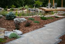BACKYARD OASIS / Landscape Design and Construction completed by HML Landscape Construction. 780.460.2088  |  wwwhmlconstruction.com