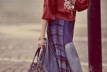 Kleding en schoenen/ laarsen / Kleding bohemian style