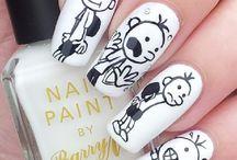 Children's Book Nails