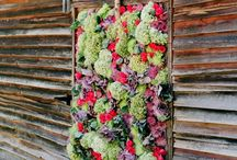 Flower Walls - Gorgeous wedding ideas!