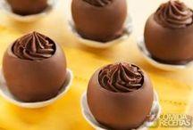 Cestinhas de chocolate