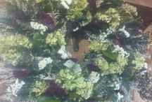 Howell's dried flower arrangements