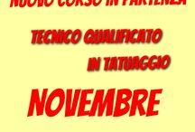 Tatuatore corso riconosciuto dalla Regione Toscana / Corso di qualifica riconosciuto dalla Regione Toscana