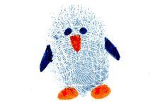 Finger Print Art / Finger print art ideas to do with my grandchildren.