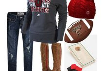 Ohio State Outfits  / by Emily Nicole