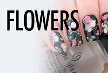 Flower Nail Art & Nail Designs