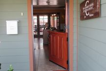 """Dutch Door StowAway Retractable Screen Doors / The StowAway Retractable Screen Door is """"The Official Retractable Screen Door of Southern California"""". Dutch Doors are the perfect door for a retractable screen. They can pull side to side as a single standard retractable screen or pull from top to shelf or top to floor! Many options for a custom installation!"""