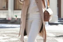 Neutral outfits / A collection of neutral outfits, all grey, all white, black and white, beige, tan, any neutral tone attire