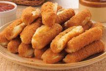 Sýrové šišky.
