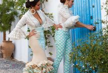 Flamenca, Spanish dresses